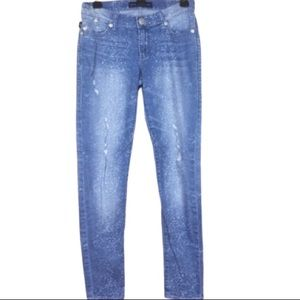 Rock & Republic Distressed & Bleached Denim Jeans